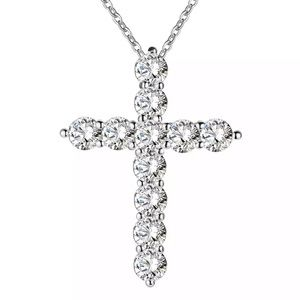 Jewelry - 925 sterling silver cross necklace